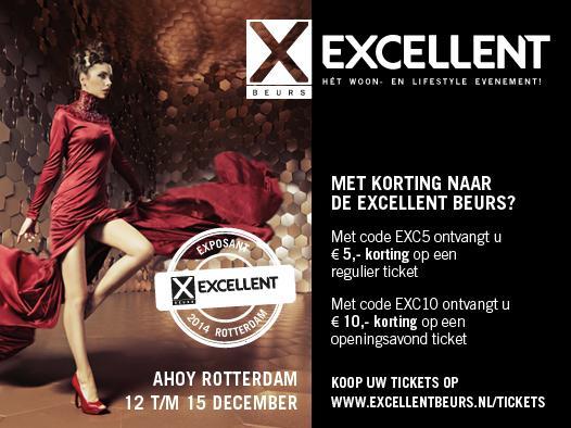 Excellent beurs Rotterdam