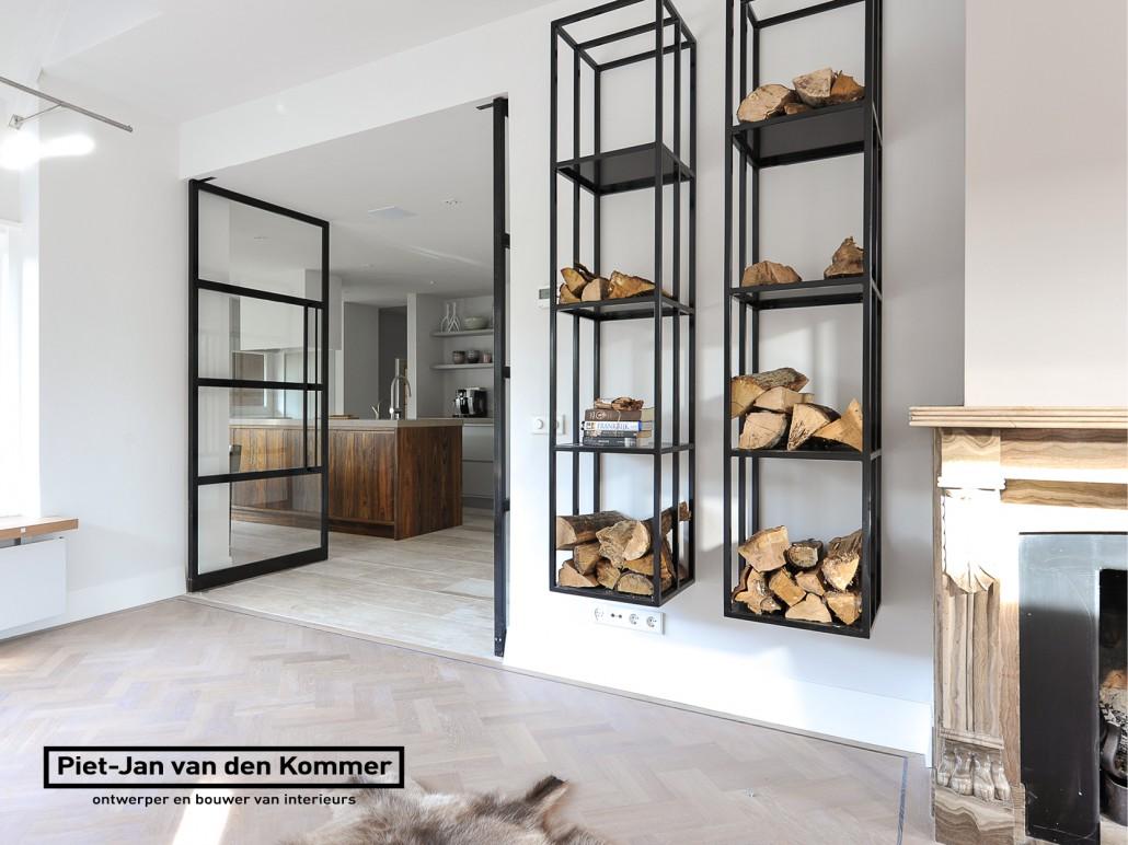 interieur voor luxe woning door piet jan van den kommer