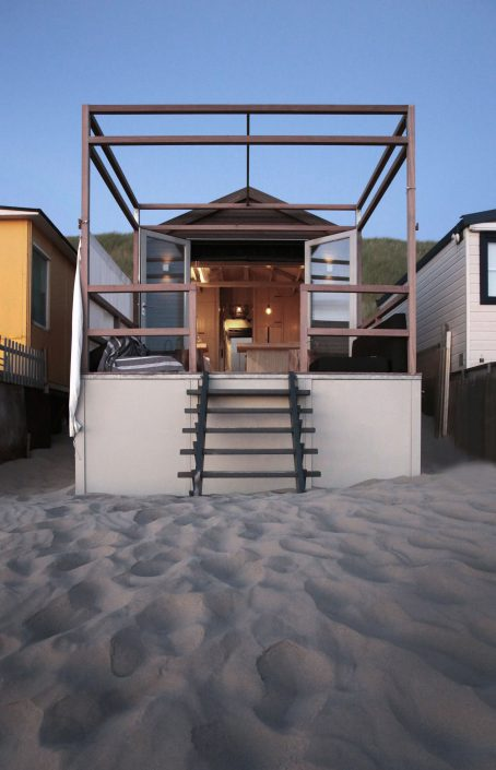 Tiny beach house | Piet-Jan van den Kommer